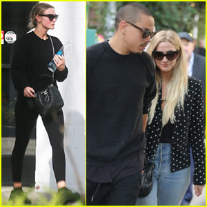Ashlee Simpson & Evan Ross Enjoy an Afternoon Date
