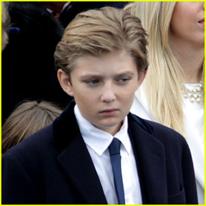 VIDEO: Barron Trump Plays Peek-a-Boo with Baby Theodore