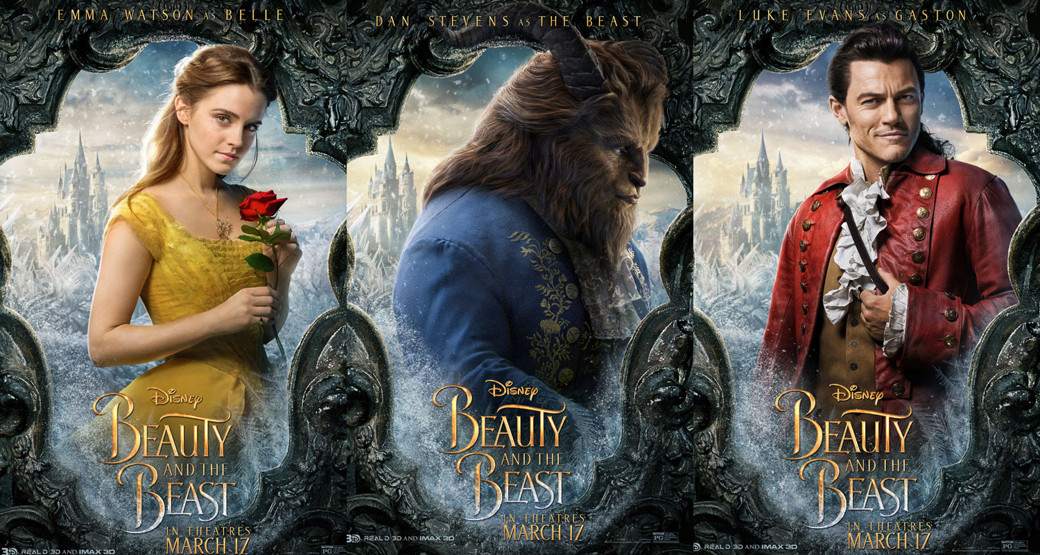Beauty The Beast Characters Get Brand New Posters