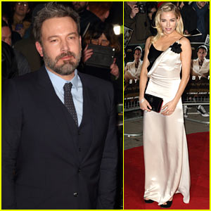 Ben Affleck & Sienna Miller Premiere 'Live By Night' in London