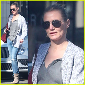 Cameron Diaz Wraps Up Her Weekend with Some Errands
