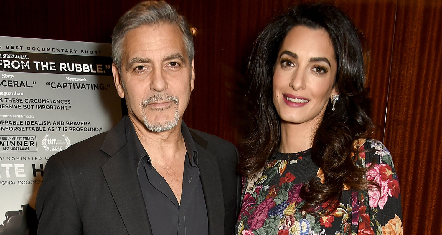 George Clooney Opens Up About 'The Most Moving Moment' Of ...