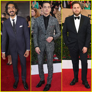 Dev Patel, Rami Malek, & More Hollywood Guys Suit Up for SAG Awards 2017