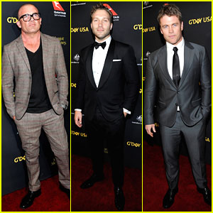 Dominic Purcell, Jai Courtney, & More Suit Up For G'Day Black Tie Gala 2017