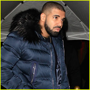 Drake Parties at Peppermint Club in West Hollywood