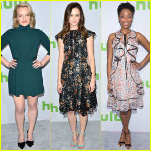 Elisabeth Moss, Alexis Bledel, & Samira Wiley Promote 'The Handmaid's Tale' at TCA 2017