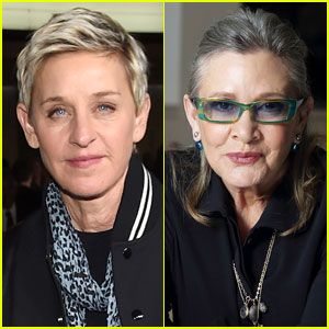 VIDEO: Ellen DeGeneres Pays Tribute to Friend Carrie Fisher