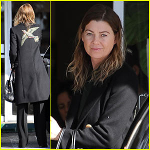 Ellen Pompeo Gets Inspired During Hiking Trip With Friends