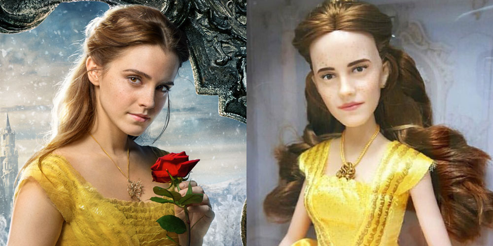 Someone Repainted Emma Watsons Belle Doll To Make It More Realistic