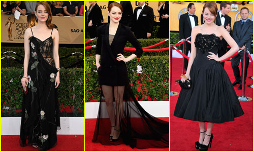 Emma Stone's SAG Awards Style Evolution Through the Years