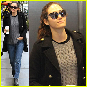 Emmy Rossum Went 'Hiking With Wolves' - See the Pics!