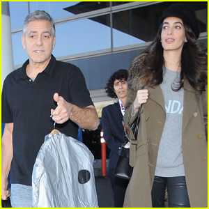 George and Amal arrive at LAX today -  George-amal-clooney-arrive-at-lax-airport-los-angeles