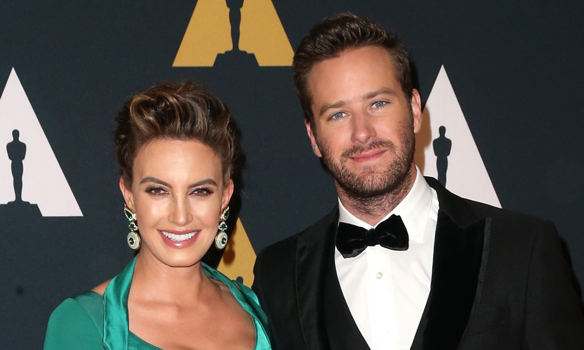 Armie Hammer & Elizabeth Chambers Share First Photo of ...