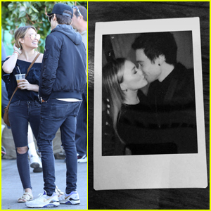 Hilary Duff Shares a Kiss With Boyfriend Matthew Koma