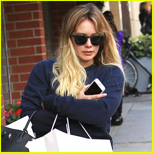 Hilary Duff Shares a Sick Selfie From Bed