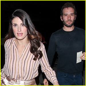 Idina Menzel Enjoys a Dinner Date with Fiance Aaron Lohr!