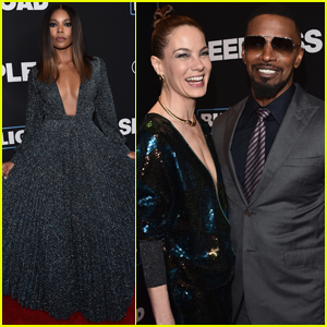 Jamie Foxx, Gabrielle Union & Michelle Monaghan Step Out at 'Sleepless' Premiere