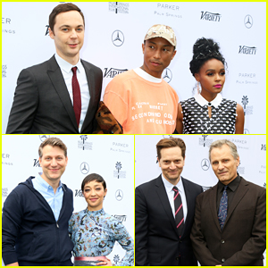 Janelle Monae & Jim Parsons Help Honor Pharrell Williams At Variety Creative Impact Awards!