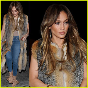 Jennifer Lopez & Drake Have Dinner Date at Catch LA