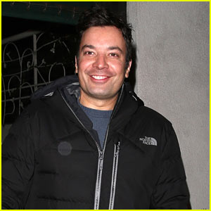 Jimmy Fallon Arrives in LA Ahead of the Golden Globes!