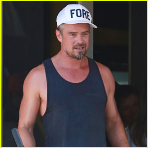 Josh Duhamel Shows Off His Buff Biceps After the Gym! | Axl Duhamel ...