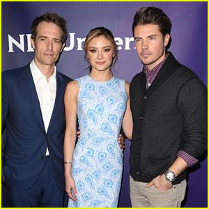Josh Henderson & Michael Vartan Promote New Show 'Arrangement' at NBC TCAs
