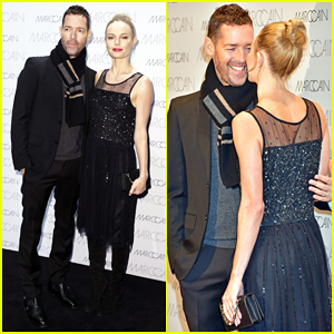 Kate Bosworth & Michael Polish Couple Up For Berlin Fashion Week!