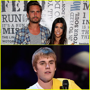 Kourtney Kardashian Is 'Finished Hooking Up with Justin Bieber,' Trying to Make Things Work with Scott Disick (Report)