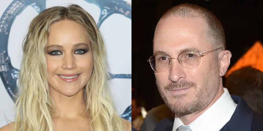 Jennifer Lawrence Spent NYE with Darren Aronofsky in NYC!   2017 New Year's  Eve, Darren Aronofsky, Jennifer Lawrence : Just Jared