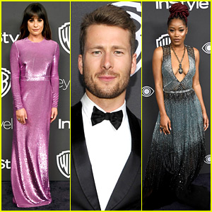 Lea Michele & Glen Powell Join 'Scream Queens' Stars at Golden Globes After Parties 2017!
