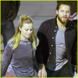 Margot Robbie & Tom Ackerley Couple Up at 'I, Tonya' Cast Party
