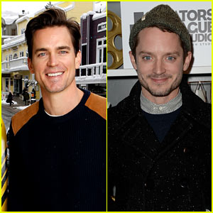 Matt Bomer Gets Support from Elijah Wood at Sundance's 'Walking Out' Premiere