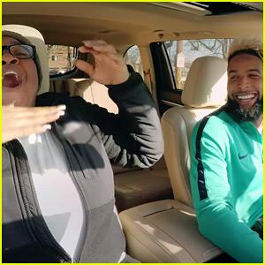 Odell Beckham Jr. Surprises Fans for Undercover Lyft Video!