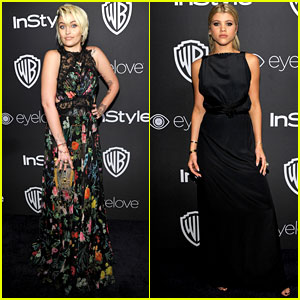 Paris Jackson & Sofia Richie Meet Up for Golden Globes After Party 2017