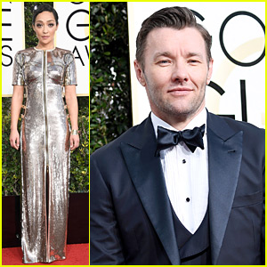 'Loving' Stars Ruth Negga & Joel Edgerton Attend Golden Globes 2017 as Nominees!