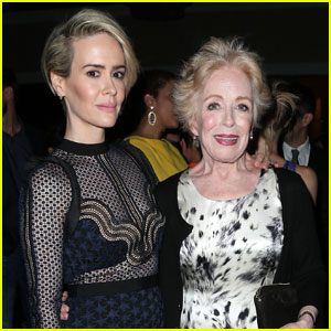 Sarah Paulson's Girlfriend Holland Taylor Calls Herself 'The Luckiest Person in the World'