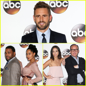 The Bachelor's Nick Viall Joins TV Stars At Winter TCA 2017!
