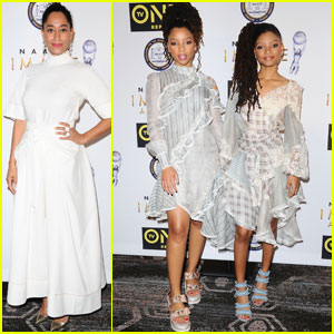 Tracee Ellis Ross Steps Out For NAACP Image Awards Nominees Luncheon 2017