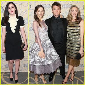 'Westworld' Stars Angela Sarafyan & Luke Hemsworth Get Together At Golden Globes 2017 HBO After Party!