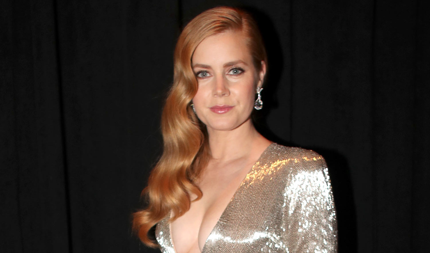 Amy Adams Shows Some Cleavage Presenting at Oscars 2017 | 2017 Oscars ... Amy Adams