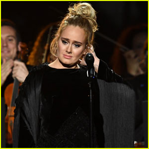 Adele Grammys 2017 - Celebs React to Stopping Performance