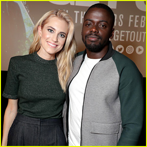 Allison Williams Debuts New Blonde Hair at 'Get Out' Screening