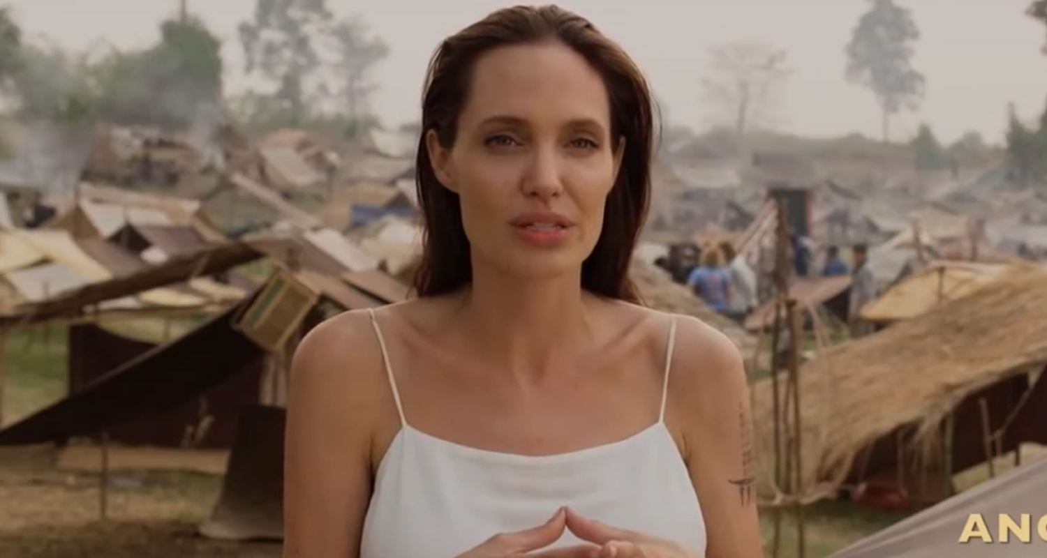 angelina jolie news newslocker angelina jolie is finally sharing the first promo for the netflix film she directed first they killed my father the movie is based on the autobiography of
