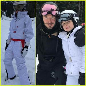 David & Victoria Beckham Share Adorable Family Photos From Ski Trip