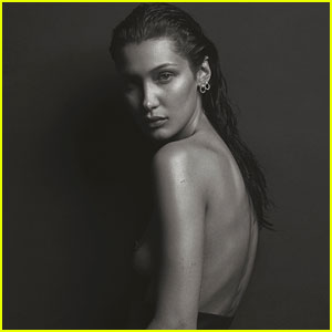 Bella Hadid Channels Kate Moss in Sexy 'V' Magazine Photo Shoot