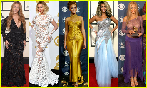 Beyonce's Grammys Style Evolution Through the Years