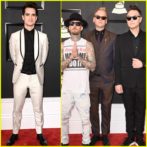 Brendon Urie & blink-182 Hit Up the Grammys 2017