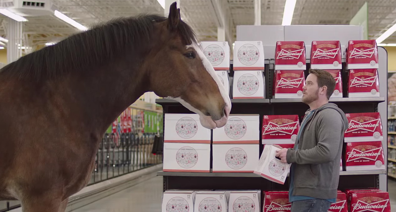 Watch Budweiser S Best Clydesdales Super Bowl Commercials 2017 Super Bowl Commercials Super Bowl Commercials Just Jared