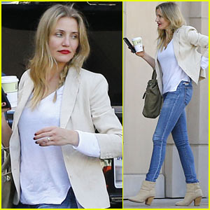Cameron Diaz Steps Out After Valentine's Day Dinner Date with Husband Benji Madden
