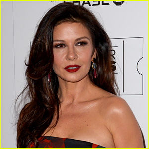 Catherine Zeta-Jones Gives a Tour of Her Massive Closet (Video)